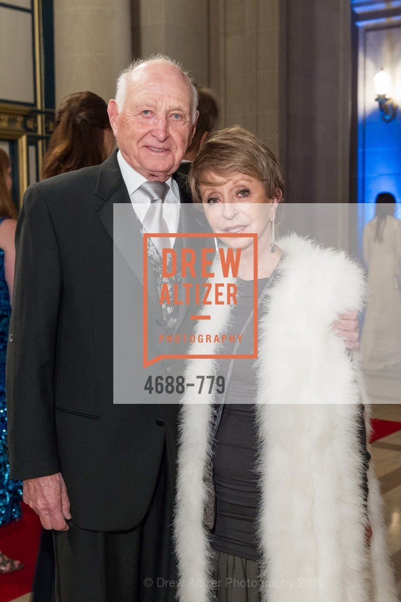 Jerry Grodsky, Roberta Sherman, San Francisco Ballet 2015 Opening Night Gala, San Francisco City Hall. 1 Dr Carlton B Goodlett Pl, January 22nd, 2015,Drew Altizer, Drew Altizer Photography, full-service agency, private events, San Francisco photographer, photographer california