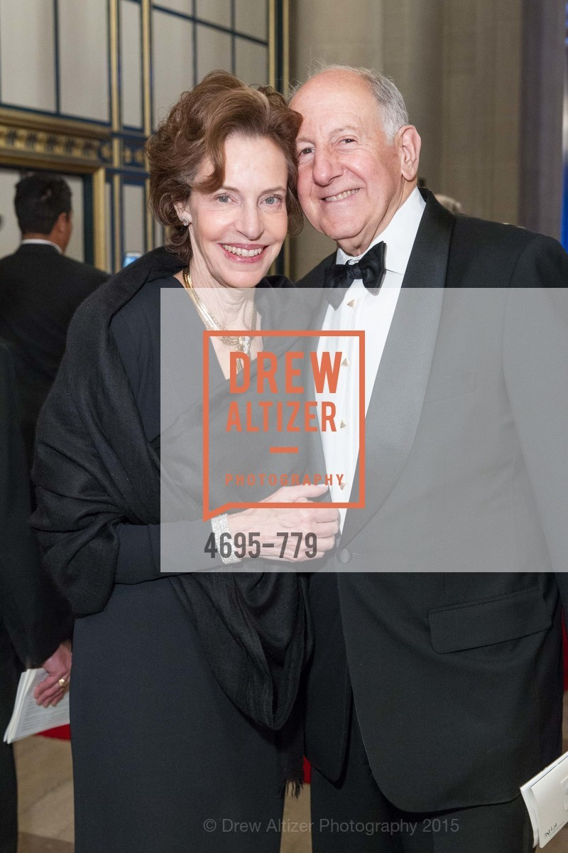 Barbara George, Ronald George, San Francisco Ballet 2015 Opening Night Gala, San Francisco City Hall. 1 Dr Carlton B Goodlett Pl, January 22nd, 2015,Drew Altizer, Drew Altizer Photography, full-service agency, private events, San Francisco photographer, photographer california