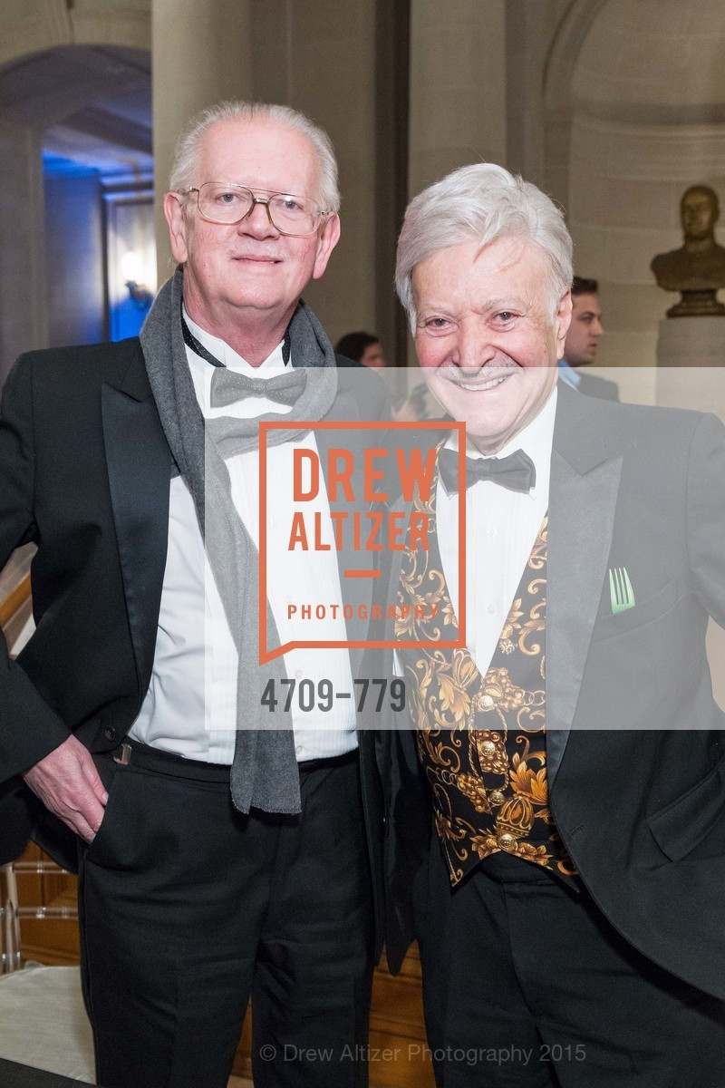 Tom Foutch, Milton Mosk, San Francisco Ballet 2015 Opening Night Gala, San Francisco City Hall. 1 Dr Carlton B Goodlett Pl, January 22nd, 2015,Drew Altizer, Drew Altizer Photography, full-service agency, private events, San Francisco photographer, photographer california