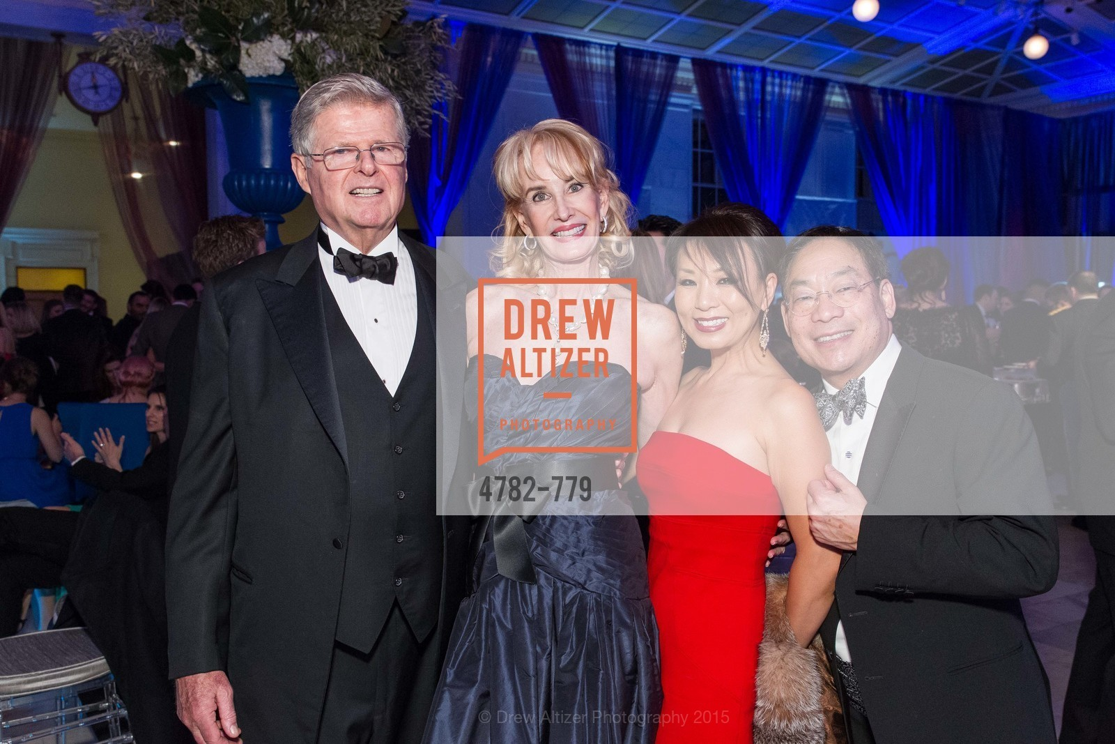 Richard Barker, Mary Keough Lyman, Jennifer Lee, Edward Lee, San Francisco Ballet 2015 Opening Night Gala, San Francisco City Hall. 1 Dr Carlton B Goodlett Pl, January 22nd, 2015,Drew Altizer, Drew Altizer Photography, full-service agency, private events, San Francisco photographer, photographer california