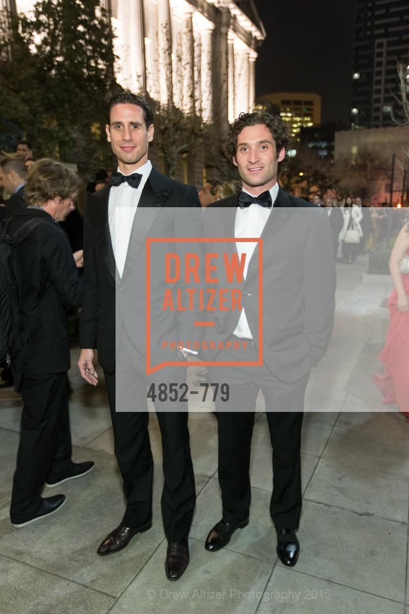 Andre Karkar, Justin Fichelson, San Francisco Ballet 2015 Opening Night Gala, San Francisco City Hall. 1 Dr Carlton B Goodlett Pl, January 22nd, 2015,Drew Altizer, Drew Altizer Photography, full-service agency, private events, San Francisco photographer, photographer california