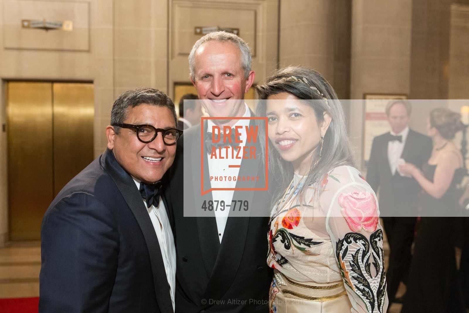 Riccardo Benavides, Phil Pemberton, Deepa Pakianathan, San Francisco Ballet 2015 Opening Night Gala, San Francisco City Hall. 1 Dr Carlton B Goodlett Pl, January 22nd, 2015,Drew Altizer, Drew Altizer Photography, full-service agency, private events, San Francisco photographer, photographer california
