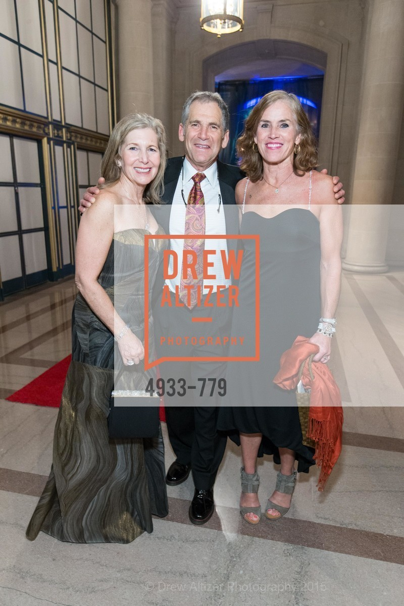 Janie Friend, Don Friend, Kat Taylor, San Francisco Ballet 2015 Opening Night Gala, San Francisco City Hall. 1 Dr Carlton B Goodlett Pl, January 22nd, 2015,Drew Altizer, Drew Altizer Photography, full-service agency, private events, San Francisco photographer, photographer california