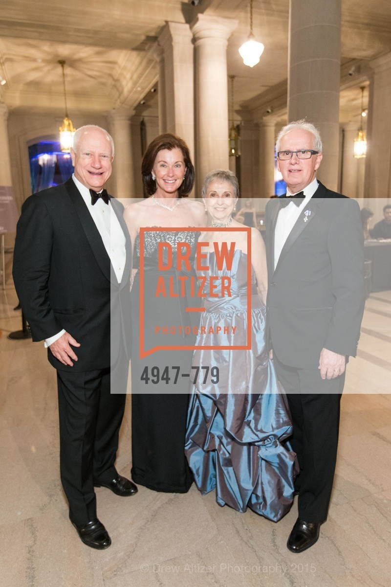 James Herbert, Cecilia Herbert, Marlene Tomasson, Helgi Tomasson, San Francisco Ballet 2015 Opening Night Gala, San Francisco City Hall. 1 Dr Carlton B Goodlett Pl, January 22nd, 2015,Drew Altizer, Drew Altizer Photography, full-service agency, private events, San Francisco photographer, photographer california