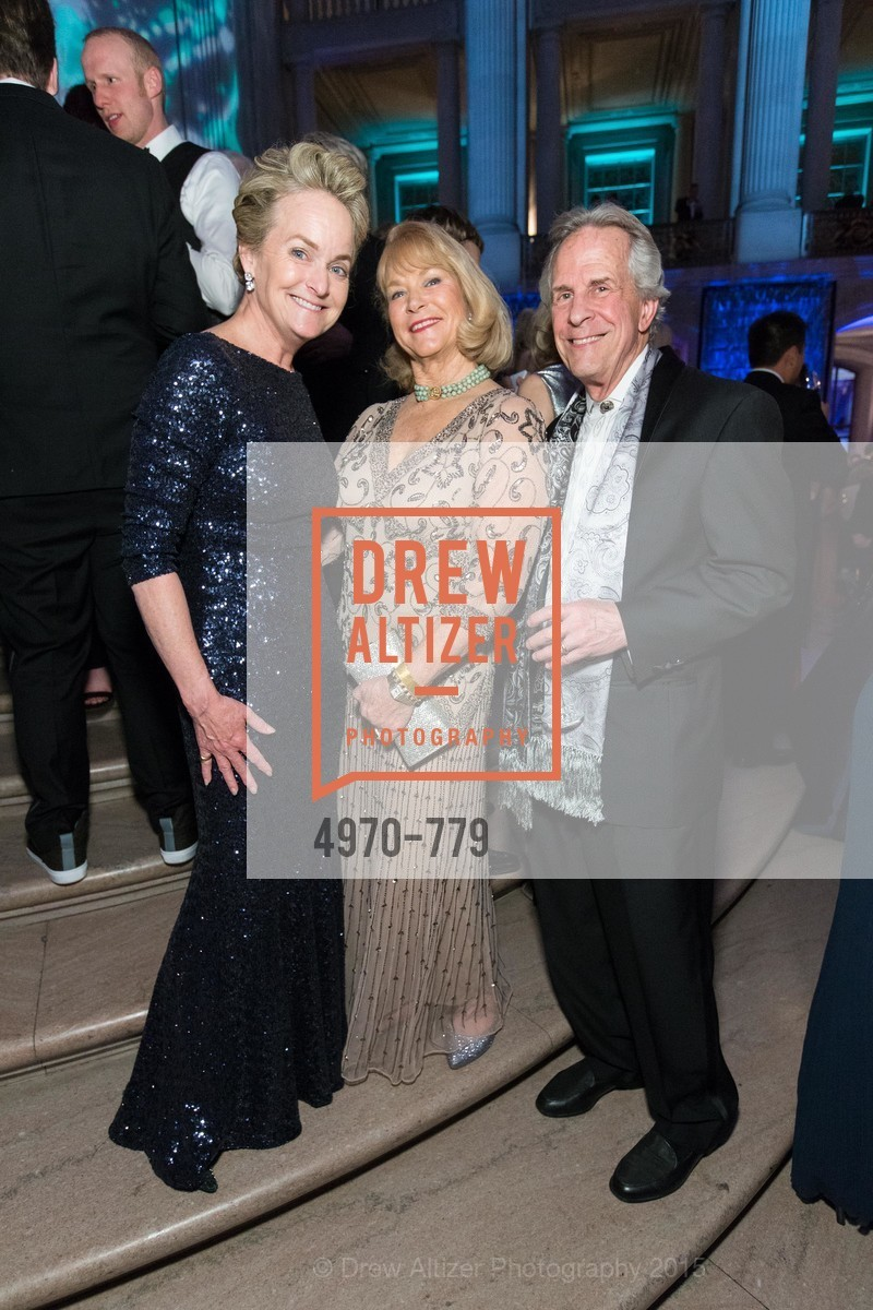 Shelby Strudwick, Nola Masterson, Bruce Jenett, San Francisco Ballet 2015 Opening Night Gala, San Francisco City Hall. 1 Dr Carlton B Goodlett Pl, January 22nd, 2015,Drew Altizer, Drew Altizer Photography, full-service agency, private events, San Francisco photographer, photographer california