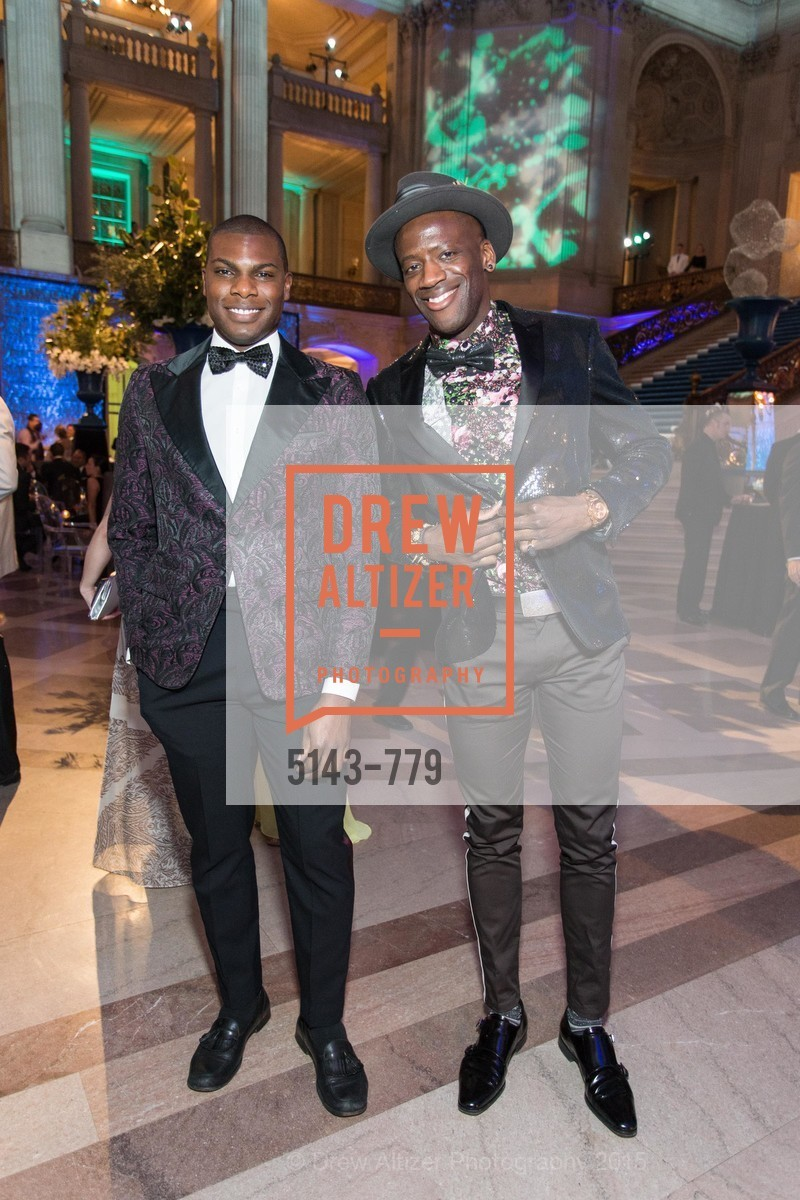 Sinardo Deleveaux, Terry Owusu, San Francisco Ballet 2015 Opening Night Gala, San Francisco City Hall. 1 Dr Carlton B Goodlett Pl, January 22nd, 2015,Drew Altizer, Drew Altizer Photography, full-service agency, private events, San Francisco photographer, photographer california