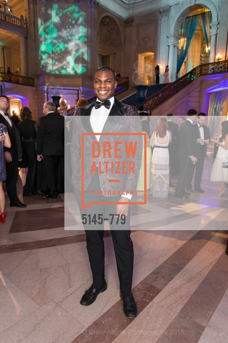Sinardo Deleveaux, San Francisco Ballet 2015 Opening Night Gala, San Francisco City Hall. 1 Dr Carlton B Goodlett Pl, January 22nd, 2015,Drew Altizer, Drew Altizer Photography, full-service agency, private events, San Francisco photographer, photographer california