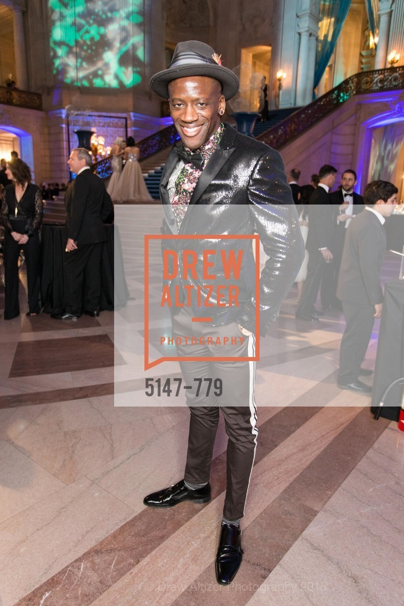Terry Owusu, San Francisco Ballet 2015 Opening Night Gala, San Francisco City Hall. 1 Dr Carlton B Goodlett Pl, January 22nd, 2015,Drew Altizer, Drew Altizer Photography, full-service agency, private events, San Francisco photographer, photographer california
