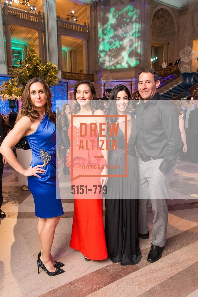 Siena DiCostanza, Erica Stakutis, Nina Duleson, Ryan Farrell, San Francisco Ballet 2015 Opening Night Gala, San Francisco City Hall. 1 Dr Carlton B Goodlett Pl, January 22nd, 2015,Drew Altizer, Drew Altizer Photography, full-service agency, private events, San Francisco photographer, photographer california