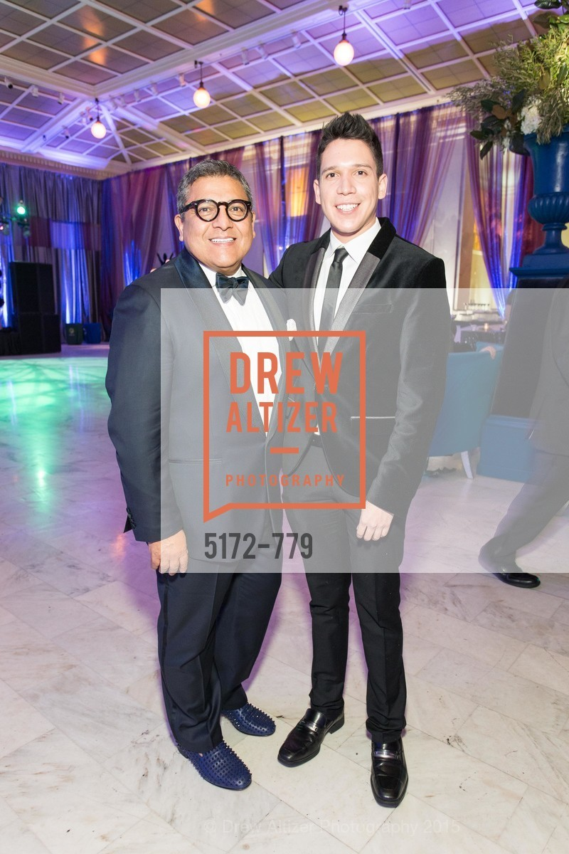Riccardo Benavides, Nicholas Gonzalez, San Francisco Ballet 2015 Opening Night Gala, San Francisco City Hall. 1 Dr Carlton B Goodlett Pl, January 22nd, 2015,Drew Altizer, Drew Altizer Photography, full-service agency, private events, San Francisco photographer, photographer california