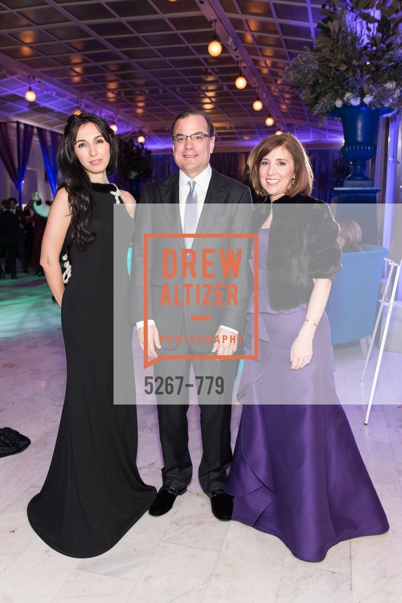 Gaia Erkan, Steve Abreu, Kellie Abreu, San Francisco Ballet 2015 Opening Night Gala, San Francisco City Hall. 1 Dr Carlton B Goodlett Pl, January 22nd, 2015,Drew Altizer, Drew Altizer Photography, full-service agency, private events, San Francisco photographer, photographer california