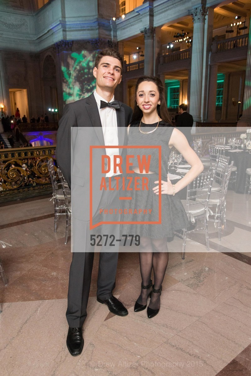 Ray Tilton, Jordan Hammond, San Francisco Ballet 2015 Opening Night Gala, San Francisco City Hall. 1 Dr Carlton B Goodlett Pl, January 22nd, 2015,Drew Altizer, Drew Altizer Photography, full-service agency, private events, San Francisco photographer, photographer california
