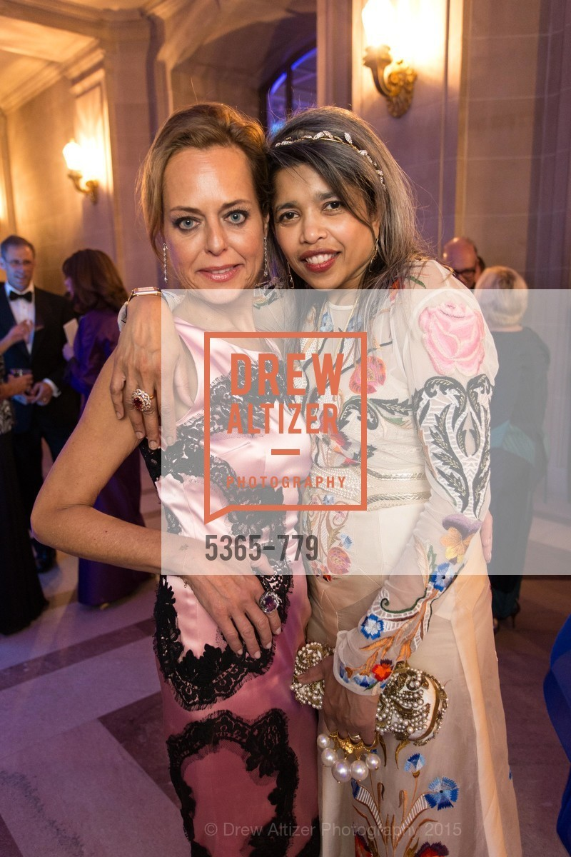 Charlot Malin, Deepa Pakianathan, San Francisco Ballet 2015 Opening Night Gala, San Francisco City Hall. 1 Dr Carlton B Goodlett Pl, January 22nd, 2015,Drew Altizer, Drew Altizer Photography, full-service agency, private events, San Francisco photographer, photographer california