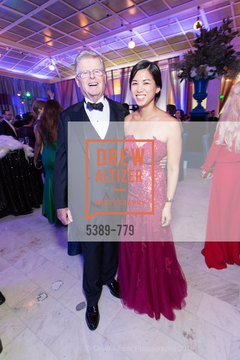 Richard Barker, Emily Hu, San Francisco Ballet 2015 Opening Night Gala, San Francisco City Hall. 1 Dr Carlton B Goodlett Pl, January 22nd, 2015,Drew Altizer, Drew Altizer Photography, full-service agency, private events, San Francisco photographer, photographer california