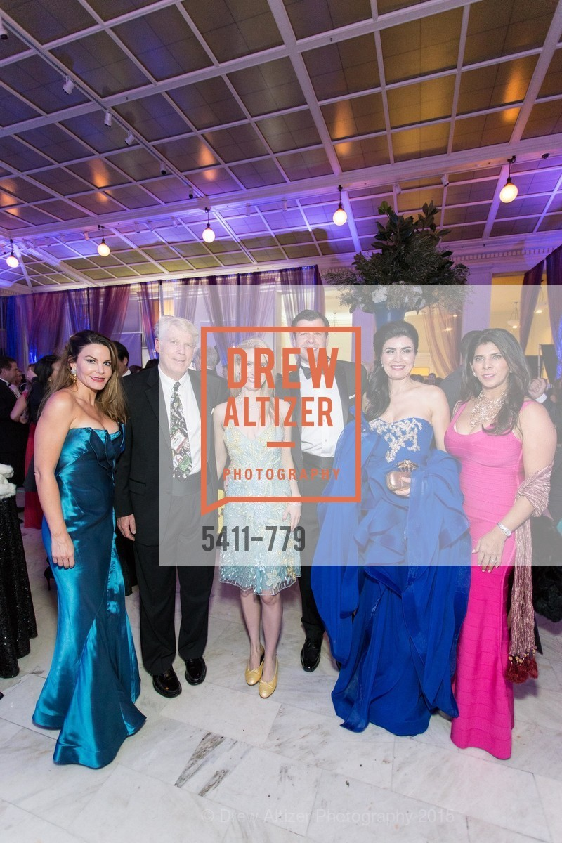 Andrea Neff, Bobby Bradford, Heather Brandow, Ryan Manion, Afsaneh Akhtari, Sujata Pherwani, San Francisco Ballet 2015 Opening Night Gala, San Francisco City Hall. 1 Dr Carlton B Goodlett Pl, January 22nd, 2015,Drew Altizer, Drew Altizer Photography, full-service agency, private events, San Francisco photographer, photographer california