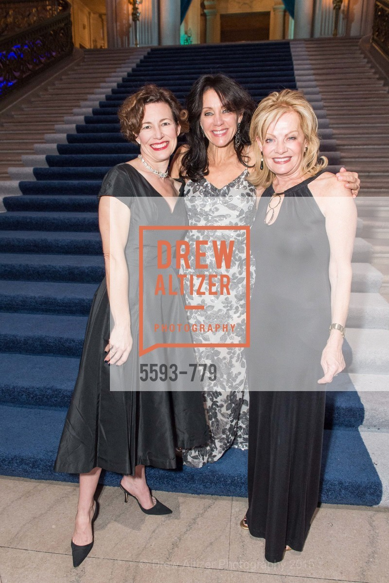 Meg Ray, Deborah Taylor, Alison Carlson, San Francisco Ballet 2015 Opening Night Gala, San Francisco City Hall. 1 Dr Carlton B Goodlett Pl, January 22nd, 2015,Drew Altizer, Drew Altizer Photography, full-service agency, private events, San Francisco photographer, photographer california