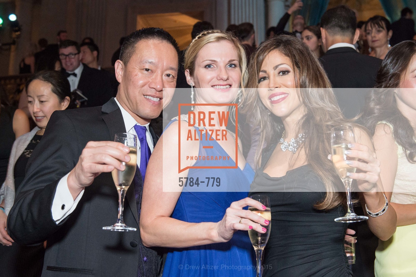 Warren Chin, Michelle White, San Francisco Ballet 2015 Opening Night Gala, San Francisco City Hall. 1 Dr Carlton B Goodlett Pl, January 22nd, 2015,Drew Altizer, Drew Altizer Photography, full-service agency, private events, San Francisco photographer, photographer california