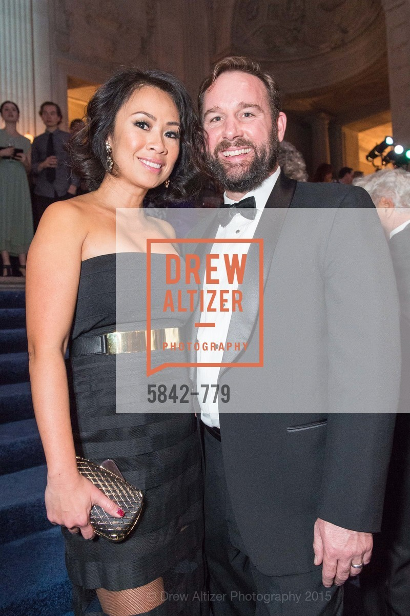 Nielma Hock, Kirby Hock, San Francisco Ballet 2015 Opening Night Gala, San Francisco City Hall. 1 Dr Carlton B Goodlett Pl, January 22nd, 2015,Drew Altizer, Drew Altizer Photography, full-service agency, private events, San Francisco photographer, photographer california