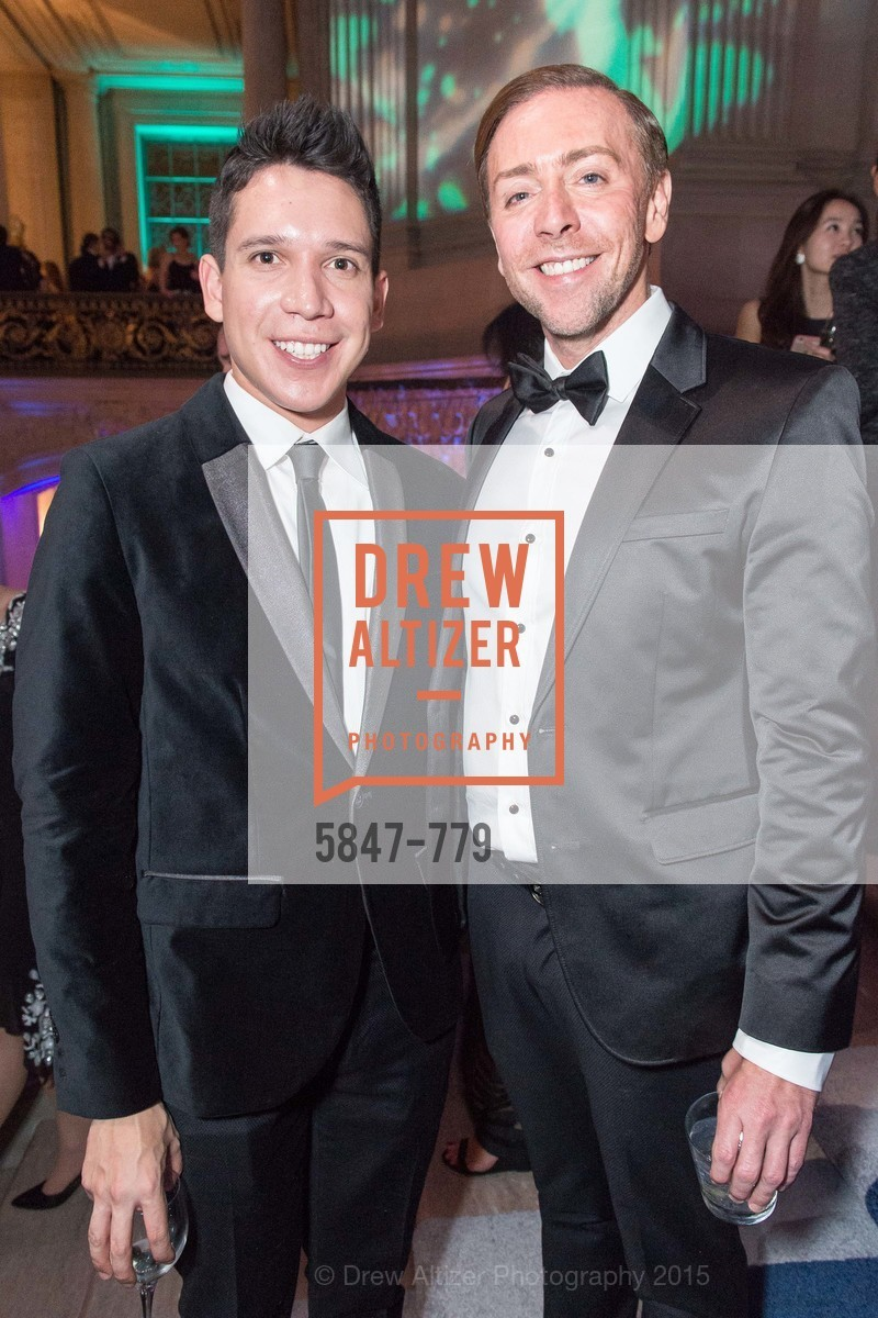 Nicholas Gonzalez, Mark Rhoades, San Francisco Ballet 2015 Opening Night Gala, San Francisco City Hall. 1 Dr Carlton B Goodlett Pl, January 22nd, 2015,Drew Altizer, Drew Altizer Photography, full-service agency, private events, San Francisco photographer, photographer california