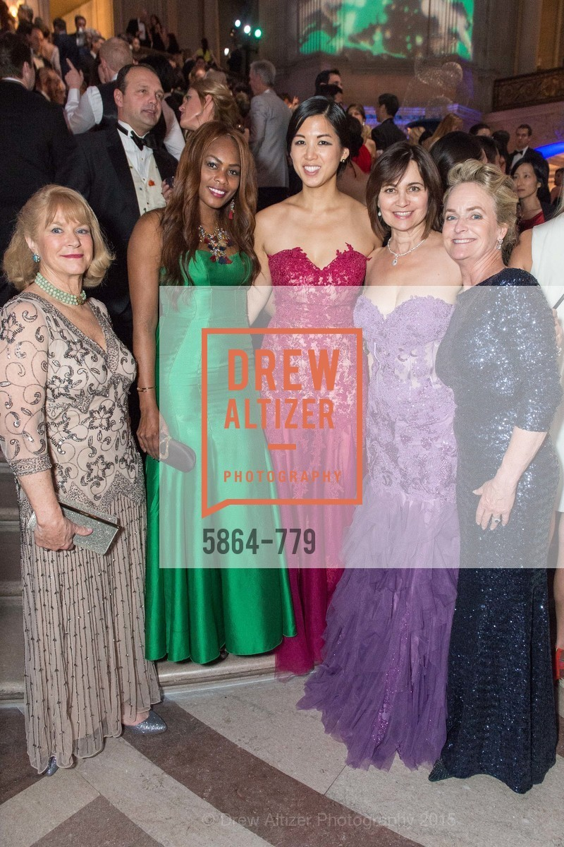 Vanessa Jean-Baptista, Emily Hu, Jane Burkhard, Shelby Strudwick, San Francisco Ballet 2015 Opening Night Gala, San Francisco City Hall. 1 Dr Carlton B Goodlett Pl, January 22nd, 2015,Drew Altizer, Drew Altizer Photography, full-service agency, private events, San Francisco photographer, photographer california