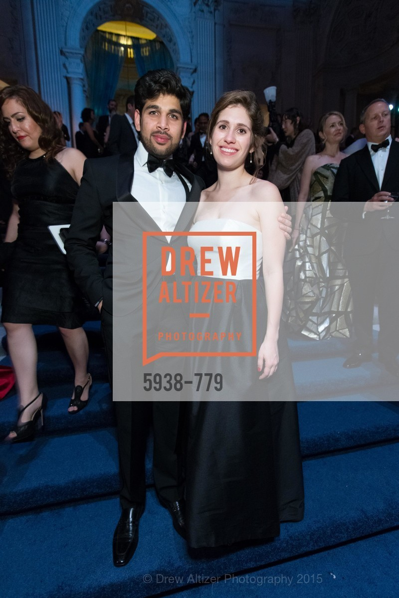 Moheeth Alvi, Janine Beydoun, San Francisco Ballet 2015 Opening Night Gala, San Francisco City Hall. 1 Dr Carlton B Goodlett Pl, January 22nd, 2015,Drew Altizer, Drew Altizer Photography, full-service agency, private events, San Francisco photographer, photographer california