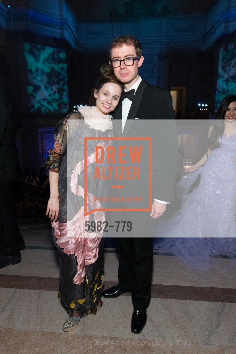 Maria Kochetkova, Edward King, San Francisco Ballet 2015 Opening Night Gala, San Francisco City Hall. 1 Dr Carlton B Goodlett Pl, January 22nd, 2015,Drew Altizer, Drew Altizer Photography, full-service agency, private events, San Francisco photographer, photographer california