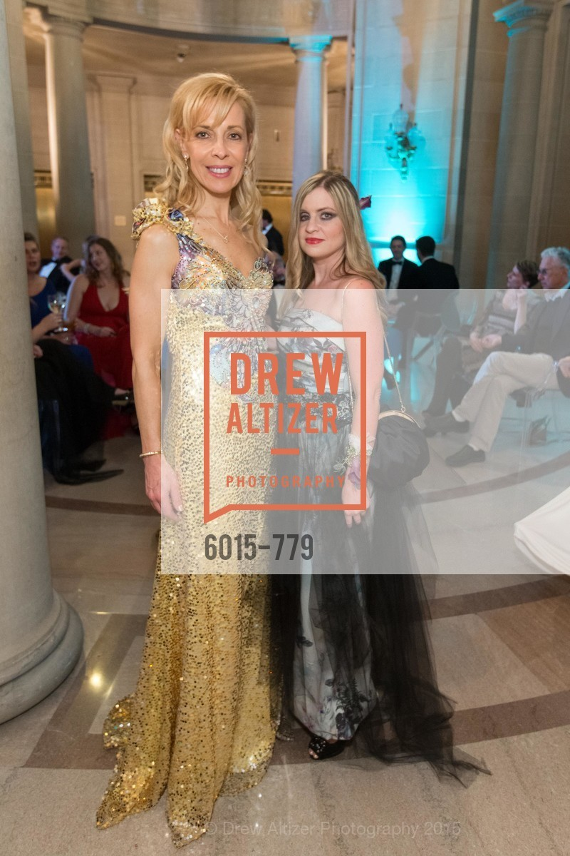 Graciela Cochran, Julie Hall, San Francisco Ballet 2015 Opening Night Gala, San Francisco City Hall. 1 Dr Carlton B Goodlett Pl, January 22nd, 2015,Drew Altizer, Drew Altizer Photography, full-service agency, private events, San Francisco photographer, photographer california