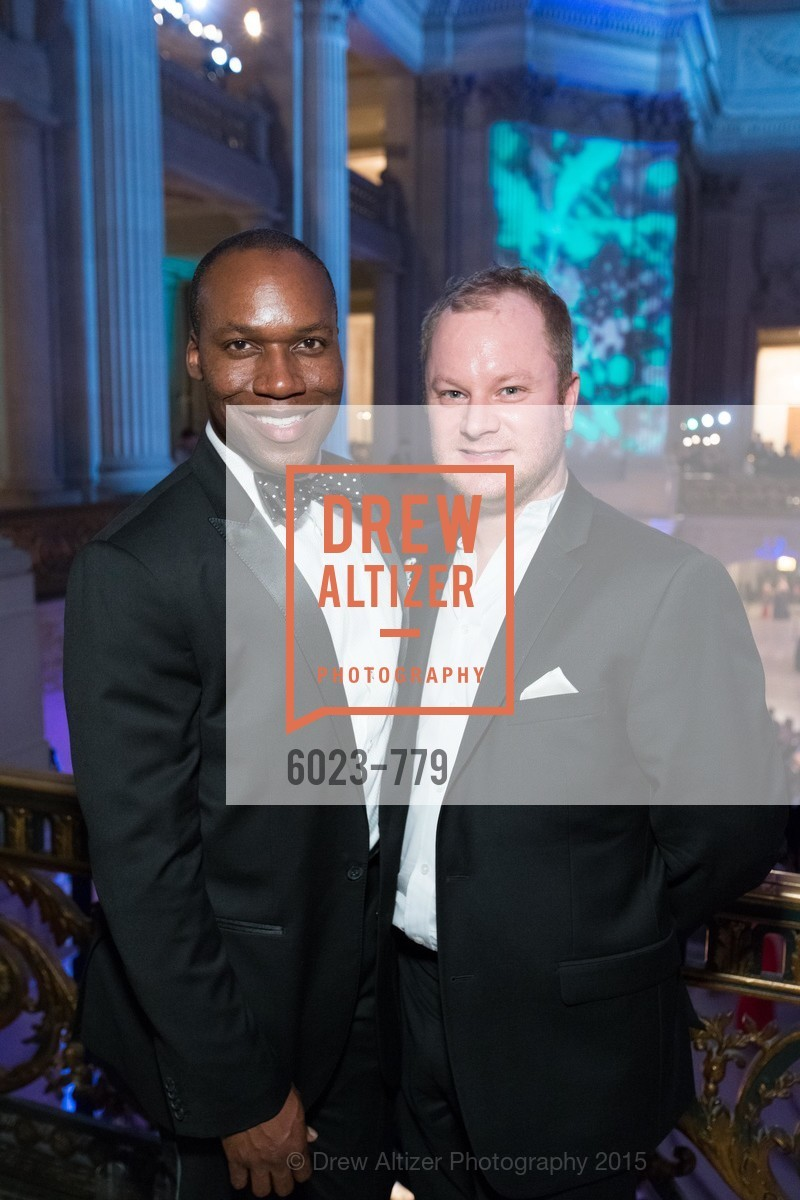 Jayson Johnson, Chris Dillard, San Francisco Ballet 2015 Opening Night Gala, San Francisco City Hall. 1 Dr Carlton B Goodlett Pl, January 22nd, 2015,Drew Altizer, Drew Altizer Photography, full-service agency, private events, San Francisco photographer, photographer california