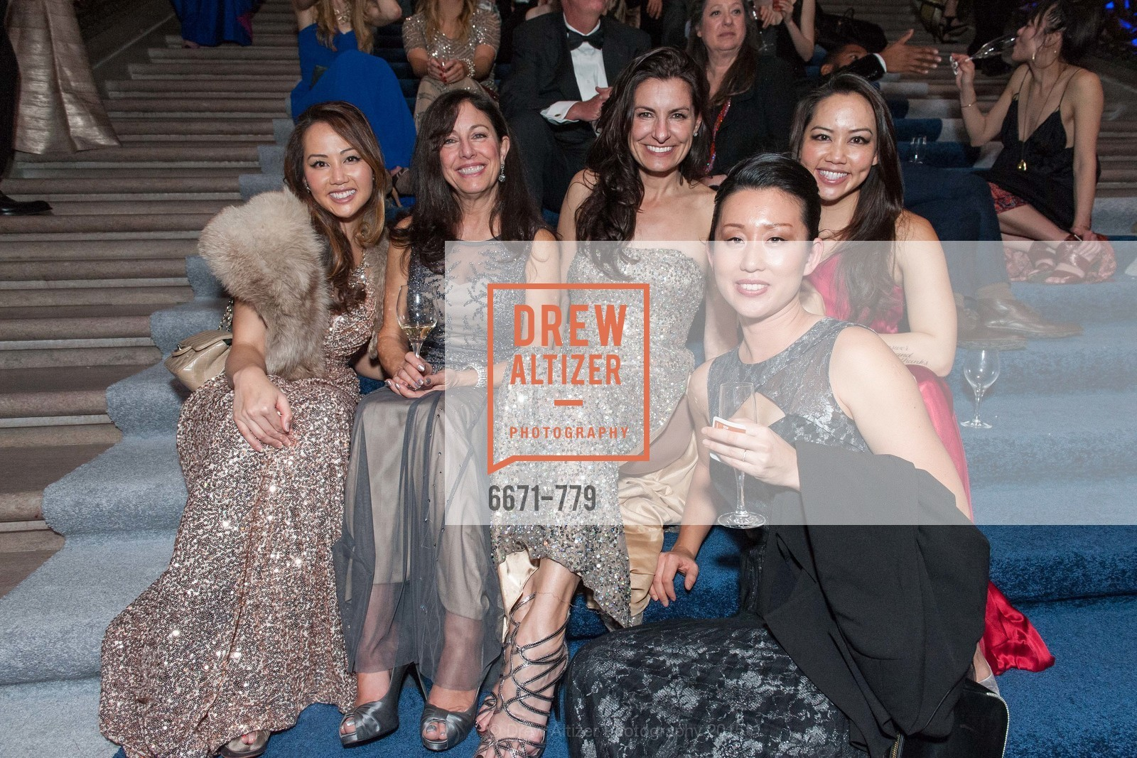 Emily Leung, Rachel Bachle, Rebecca Cooper, Jessica Leung, Ikuyo Yamaza, San Francisco Ballet 2015 Opening Night Gala, San Francisco City Hall. 1 Dr Carlton B Goodlett Pl, January 22nd, 2015,Drew Altizer, Drew Altizer Photography, full-service agency, private events, San Francisco photographer, photographer california
