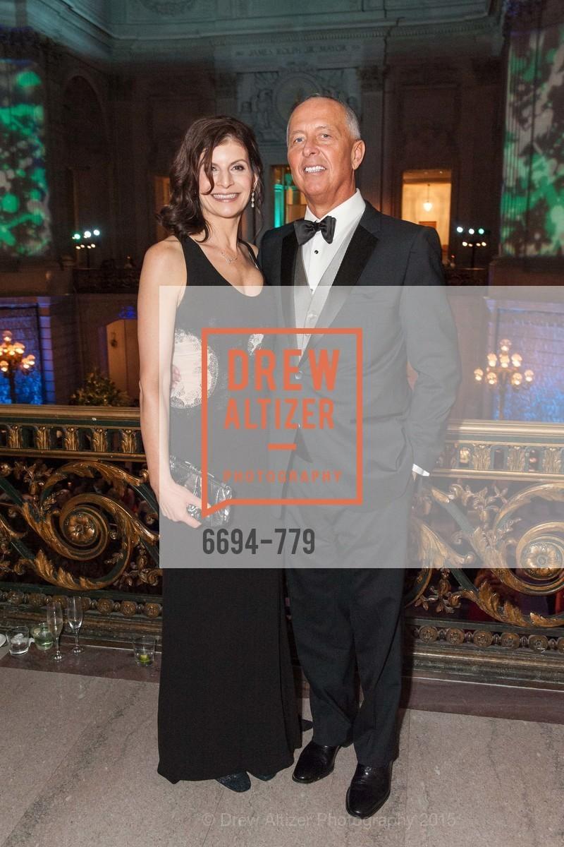 Paula Elmore, David Nosal, San Francisco Ballet 2015 Opening Night Gala, San Francisco City Hall. 1 Dr Carlton B Goodlett Pl, January 22nd, 2015