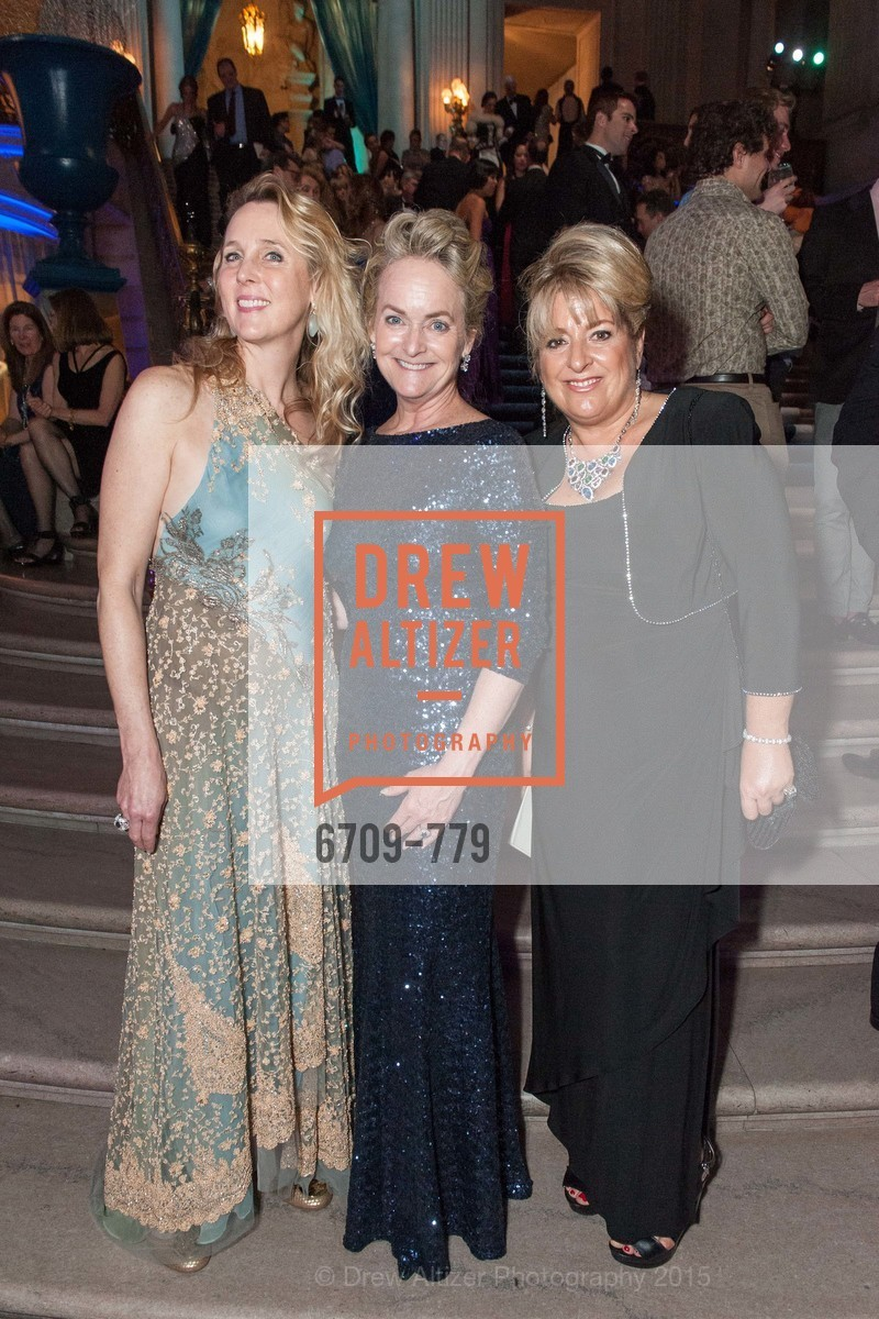 Elizabeth Mitchell, Shelby Strudwick, Holly Ghier, San Francisco Ballet 2015 Opening Night Gala, San Francisco City Hall. 1 Dr Carlton B Goodlett Pl, January 22nd, 2015,Drew Altizer, Drew Altizer Photography, full-service agency, private events, San Francisco photographer, photographer california