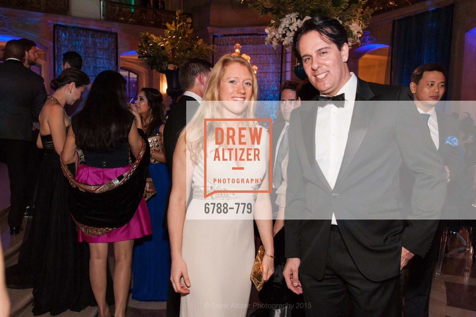 Christina Nugent, Chris Moheji, San Francisco Ballet 2015 Opening Night Gala, San Francisco City Hall. 1 Dr Carlton B Goodlett Pl, January 22nd, 2015,Drew Altizer, Drew Altizer Photography, full-service agency, private events, San Francisco photographer, photographer california