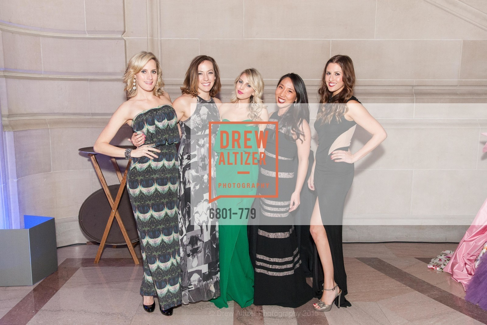 Danielle Stadel, Molly Fenwick, Claire Sculatti, Betty Yen, Erin Finnegan, San Francisco Ballet 2015 Opening Night Gala, San Francisco City Hall. 1 Dr Carlton B Goodlett Pl, January 22nd, 2015,Drew Altizer, Drew Altizer Photography, full-service agency, private events, San Francisco photographer, photographer california