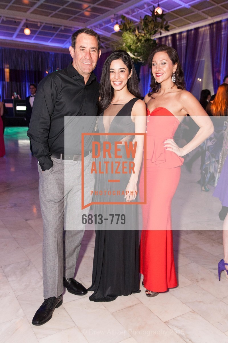 Ryan Farrell, Lena Erleson, Erica Stakutis, San Francisco Ballet 2015 Opening Night Gala, San Francisco City Hall. 1 Dr Carlton B Goodlett Pl, January 22nd, 2015,Drew Altizer, Drew Altizer Photography, full-service agency, private events, San Francisco photographer, photographer california