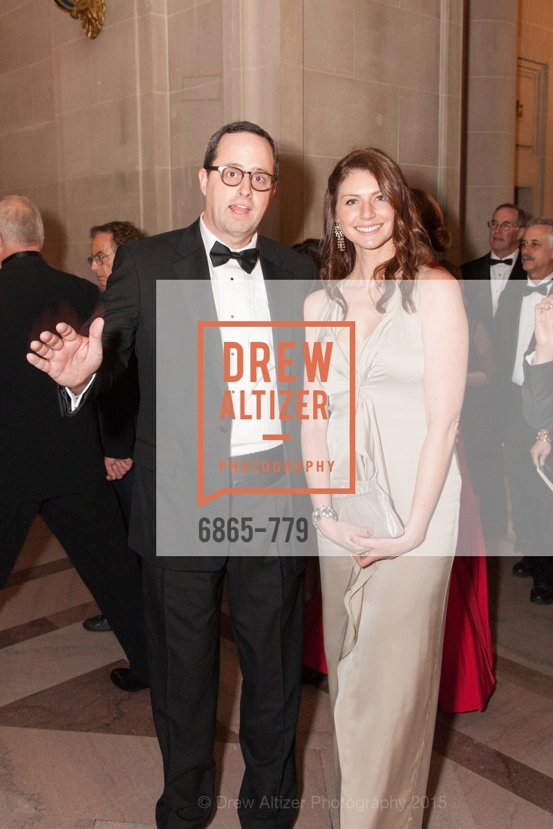 Justin Bank, Rose Kelly, San Francisco Ballet 2015 Opening Night Gala, San Francisco City Hall. 1 Dr Carlton B Goodlett Pl, January 22nd, 2015,Drew Altizer, Drew Altizer Photography, full-service agency, private events, San Francisco photographer, photographer california
