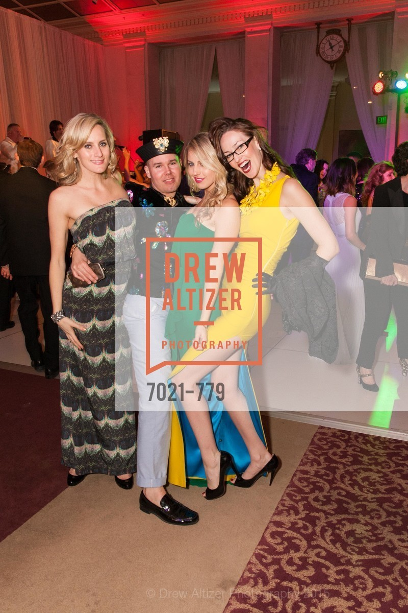 Danielle Stadel, Chadler Bayer, Claire Sculatti, Katherine Hopgood, San Francisco Ballet 2015 Opening Night Gala, San Francisco City Hall. 1 Dr Carlton B Goodlett Pl, January 22nd, 2015,Drew Altizer, Drew Altizer Photography, full-service agency, private events, San Francisco photographer, photographer california