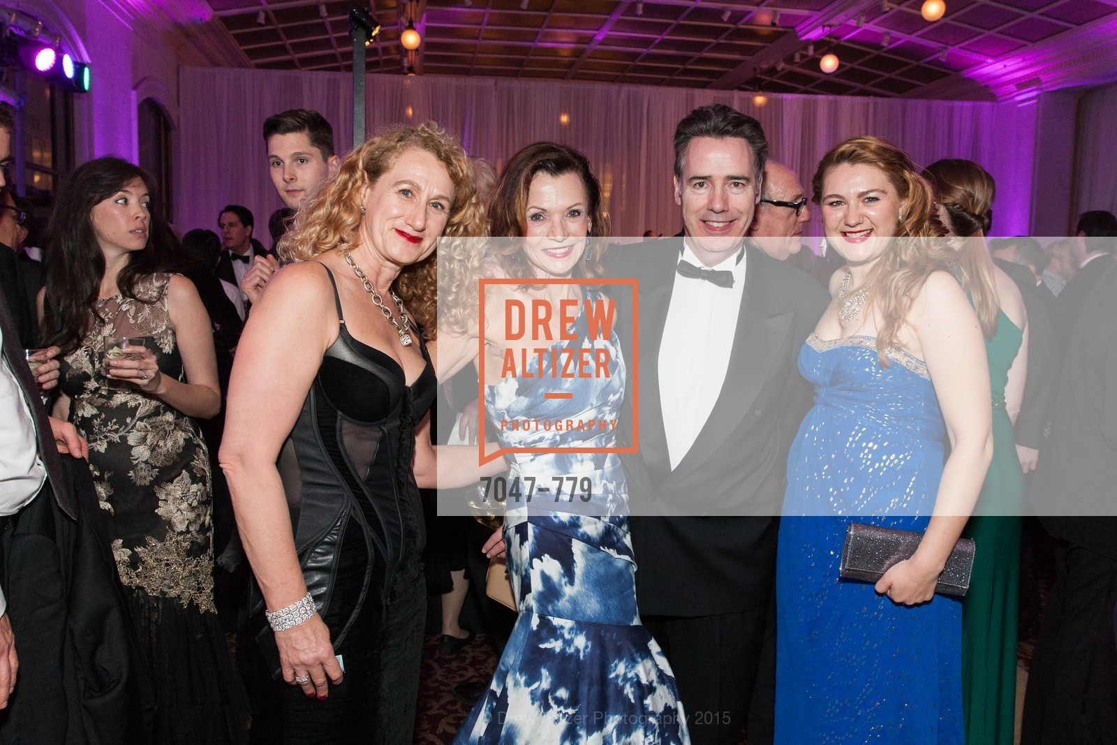 Helen Heinsohn, Cari Harty, Kieran Harty, Taisia Dubinina, San Francisco Ballet 2015 Opening Night Gala, San Francisco City Hall. 1 Dr Carlton B Goodlett Pl, January 22nd, 2015,Drew Altizer, Drew Altizer Photography, full-service agency, private events, San Francisco photographer, photographer california