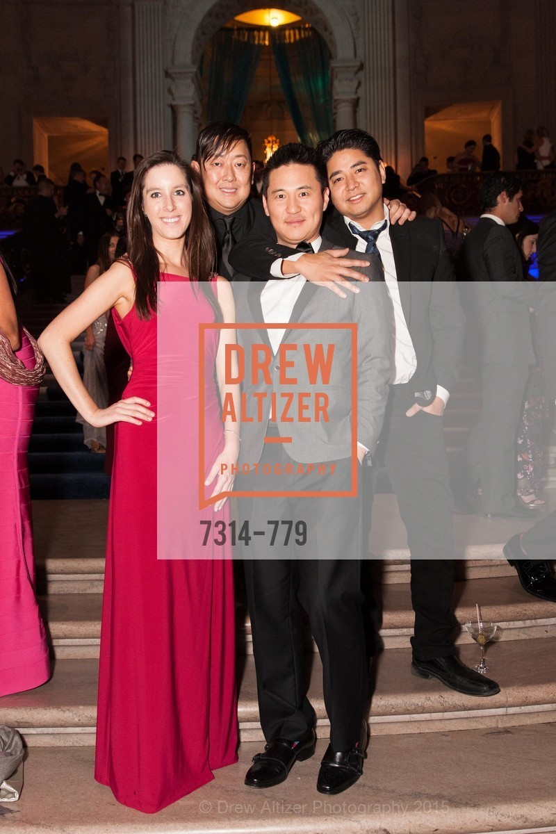 Emily Novosel, Charles Michael Yim, Dave Kim, John Kim, San Francisco Ballet 2015 Opening Night Gala, San Francisco City Hall. 1 Dr Carlton B Goodlett Pl, January 22nd, 2015,Drew Altizer, Drew Altizer Photography, full-service agency, private events, San Francisco photographer, photographer california