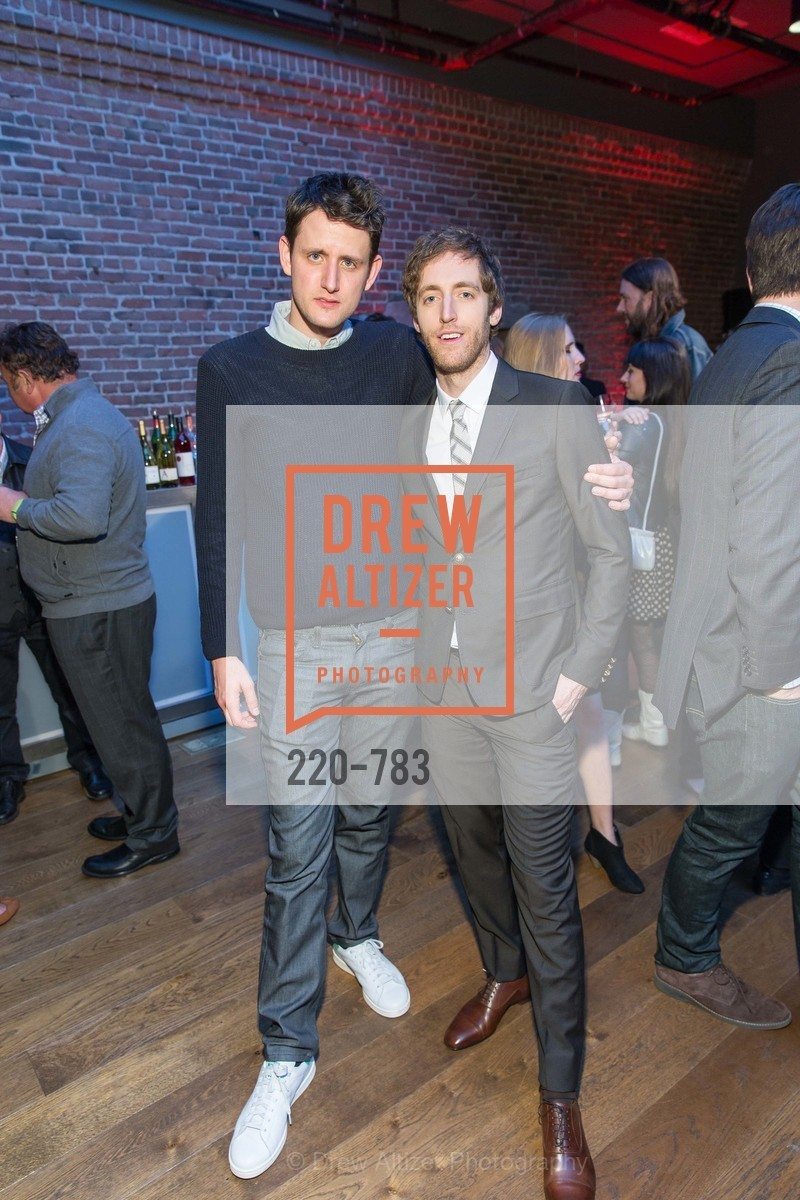 Zach Woods, Thomas Middleditch, HBO'S SILICON VALLEY San Francisco Screening, US, April 8th, 2015,Drew Altizer, Drew Altizer Photography, full-service agency, private events, San Francisco photographer, photographer california