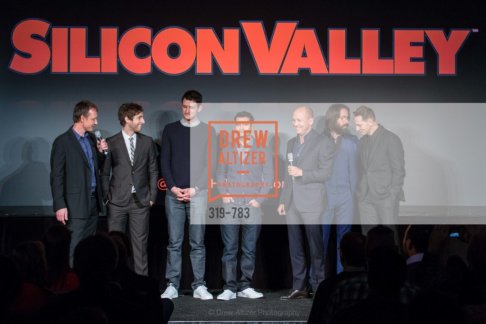 Alec Berg, Thomas Middleditch, Zach Woods, Kumail Nanjiani, Mike Judge, Martin Starr, Matt Ross, HBO'S SILICON VALLEY San Francisco Screening, US, April 8th, 2015,Drew Altizer, Drew Altizer Photography, full-service agency, private events, San Francisco photographer, photographer california
