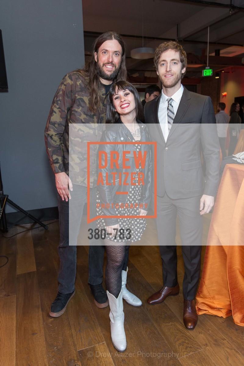 Chris Sullivan, Kate Ward, Thomas Middleditch, HBO'S SILICON VALLEY San Francisco Screening, US, April 9th, 2015
