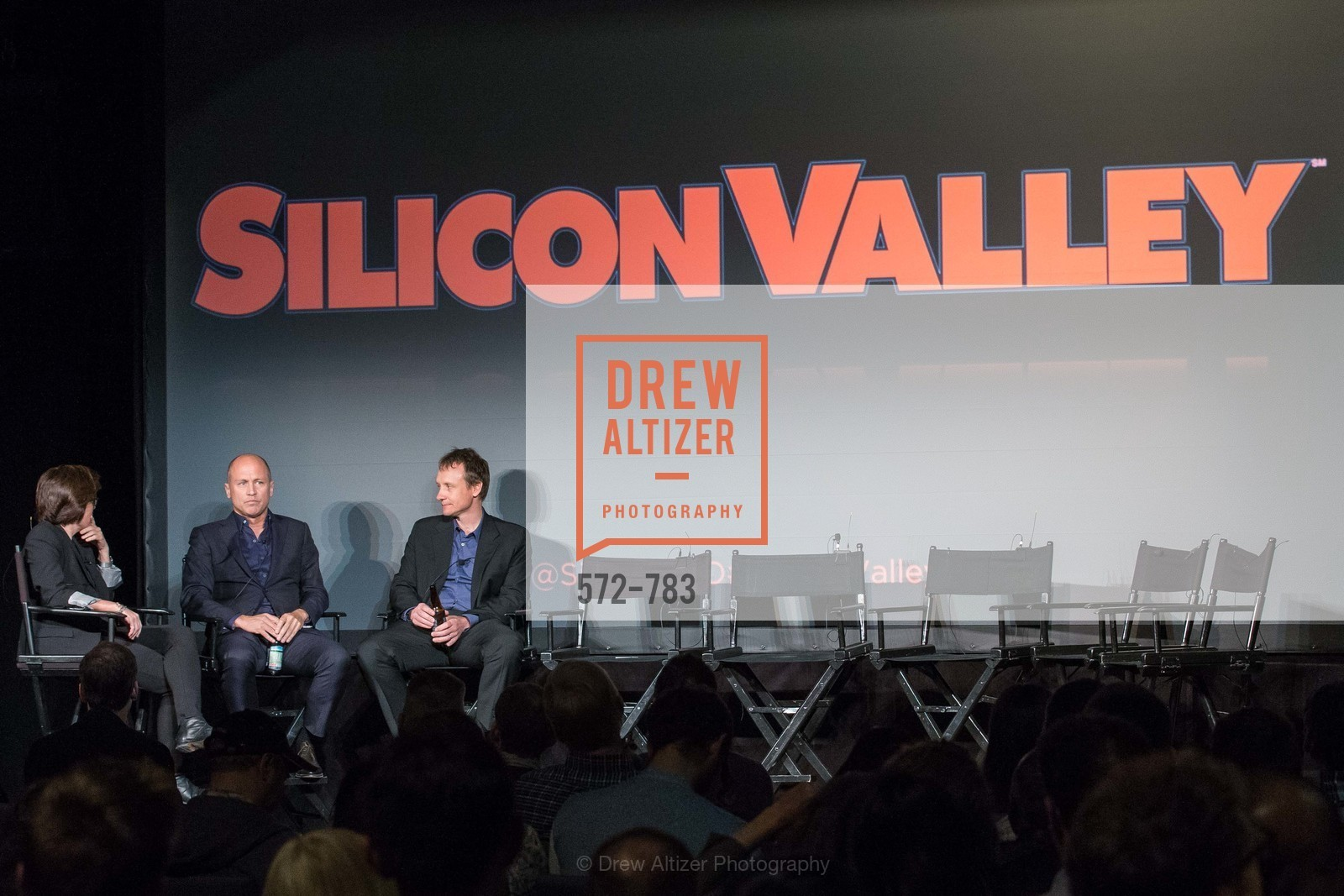Kara Swisher, Mike Judge, Alec Berg, HBO'S SILICON VALLEY San Francisco Screening, US, April 9th, 2015