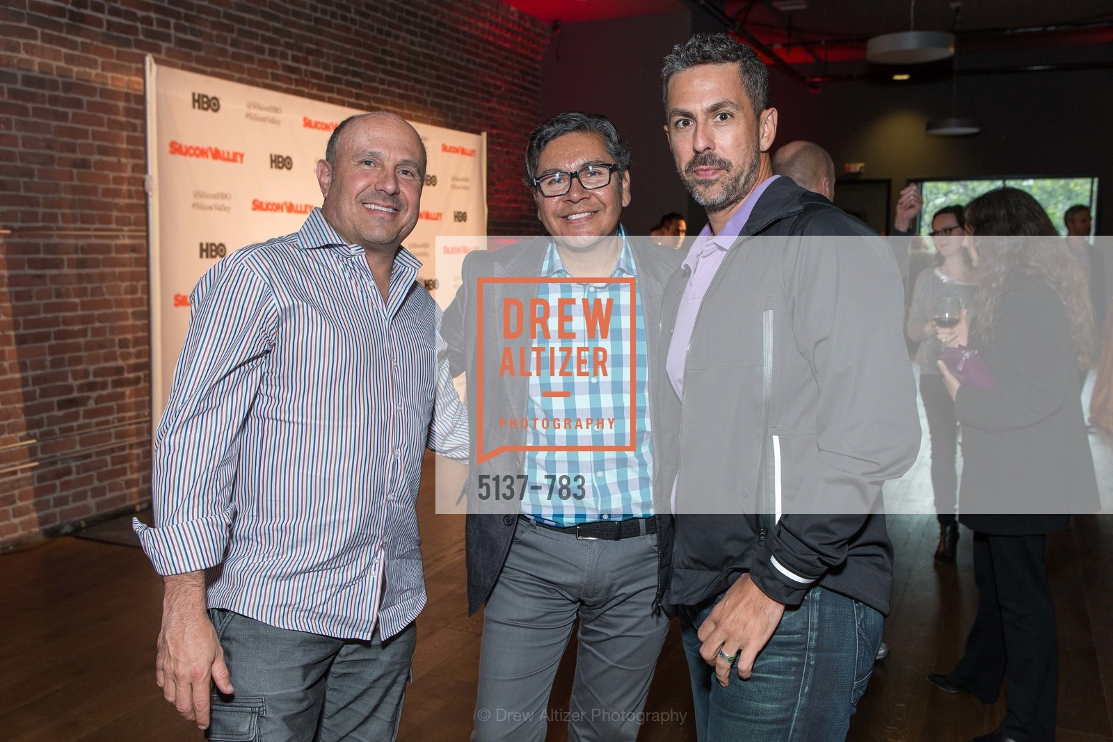 Adam Berman, David Castro, Alex Scotta, HBO'S SILICON VALLEY San Francisco Screening, US, April 8th, 2015,Drew Altizer, Drew Altizer Photography, full-service agency, private events, San Francisco photographer, photographer california