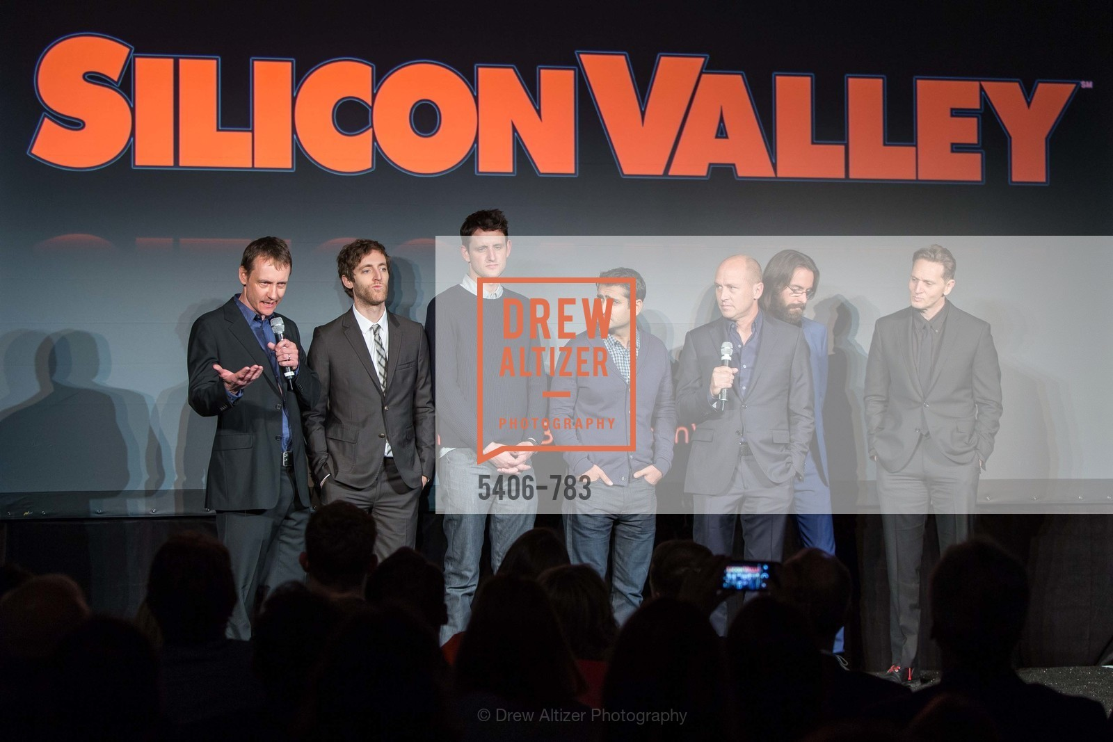 Alec Berg, Thomas Middleditch, Zach Woods, Kumial Nanjiani, Mike Judge, Martin Starr, Matt Ross, HBO'S SILICON VALLEY San Francisco Screening, US, April 8th, 2015,Drew Altizer, Drew Altizer Photography, full-service agency, private events, San Francisco photographer, photographer california