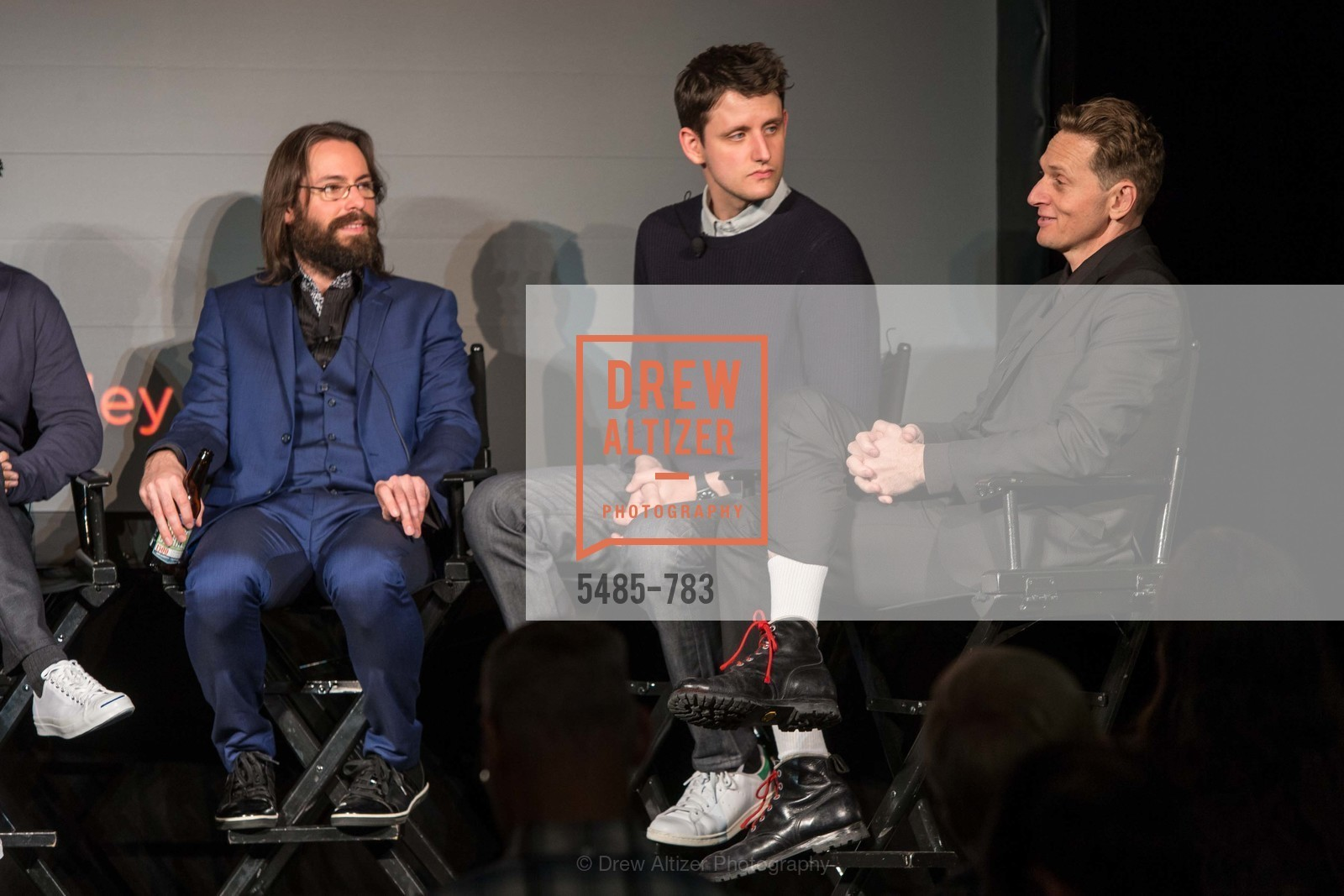 Martin Starr, Zach Woods, Matt Ross, HBO'S SILICON VALLEY San Francisco Screening, US, April 9th, 2015,Drew Altizer, Drew Altizer Photography, full-service agency, private events, San Francisco photographer, photographer california