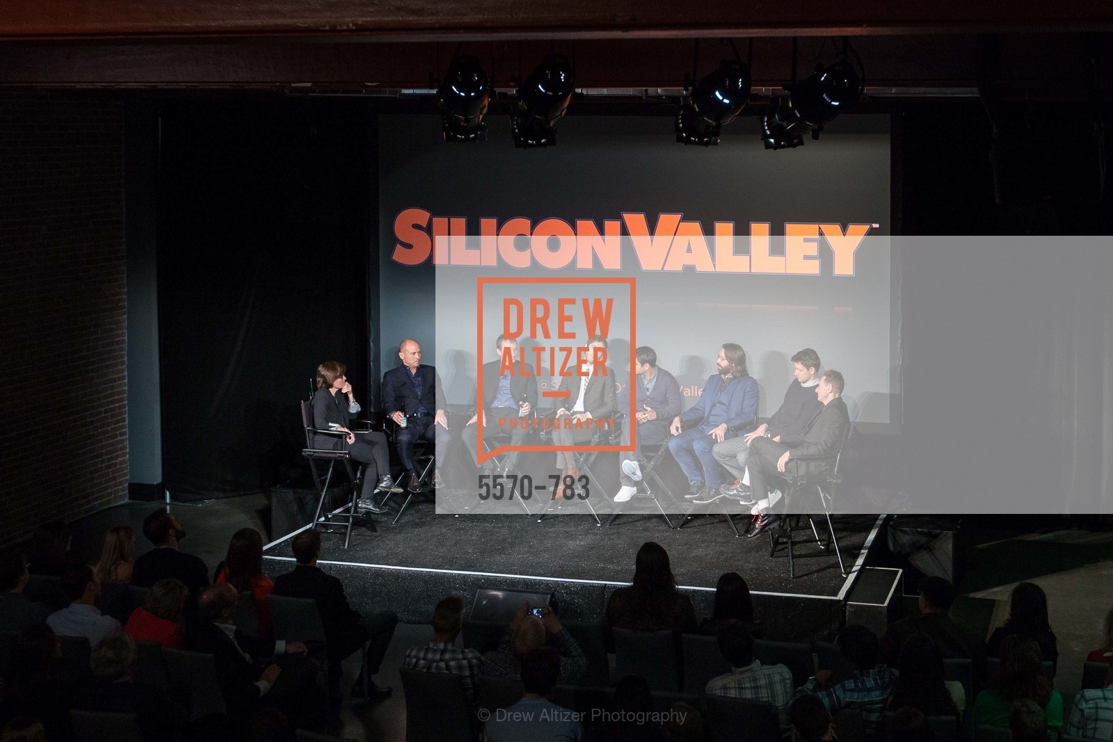 Kara Swisher, Mike Judge, Alec Berg, Thomas Middleditch, Kumail Nanjiani, Martin Starr, Zach Woods, Matt Ross, HBO'S SILICON VALLEY San Francisco Screening, US, April 8th, 2015,Drew Altizer, Drew Altizer Photography, full-service agency, private events, San Francisco photographer, photographer california