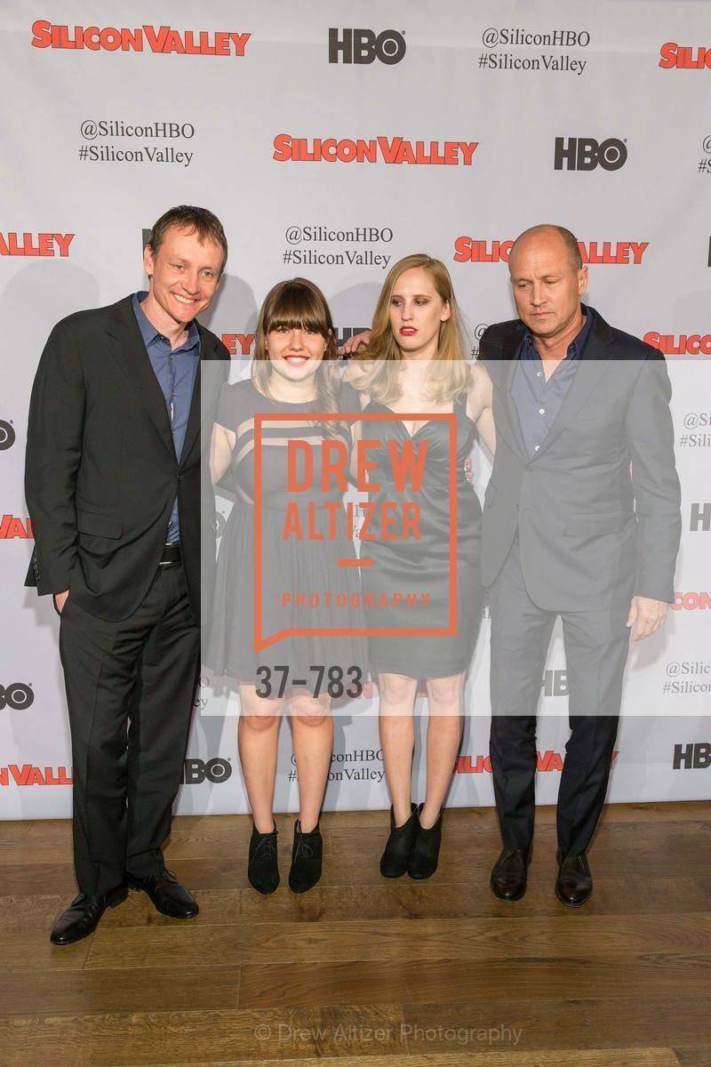 Alec Berg, Amy Solomon, Hannah Settle, Mike Judge, HBO'S SILICON VALLEY San Francisco Screening, US, April 9th, 2015,Drew Altizer, Drew Altizer Photography, full-service event agency, private events, San Francisco photographer, photographer California