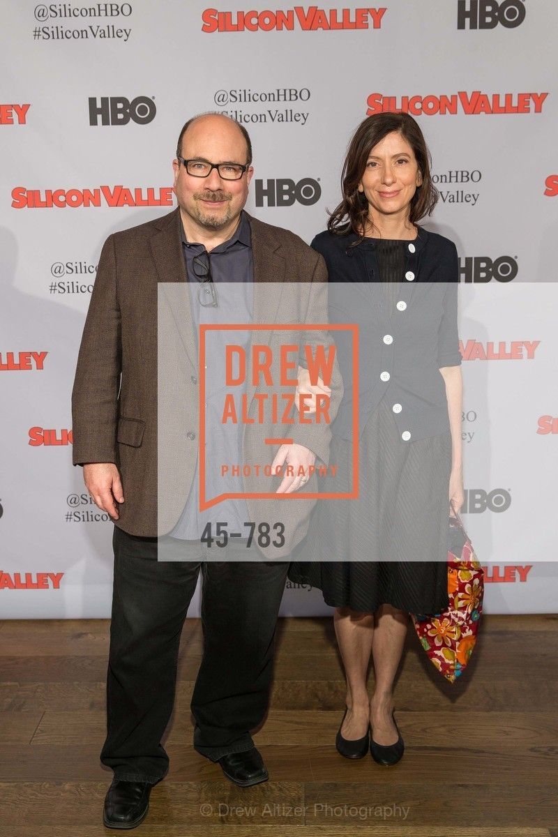 Craig Newmark, Eileen Newmark, HBO'S SILICON VALLEY San Francisco Screening, US, April 8th, 2015,Drew Altizer, Drew Altizer Photography, full-service agency, private events, San Francisco photographer, photographer california