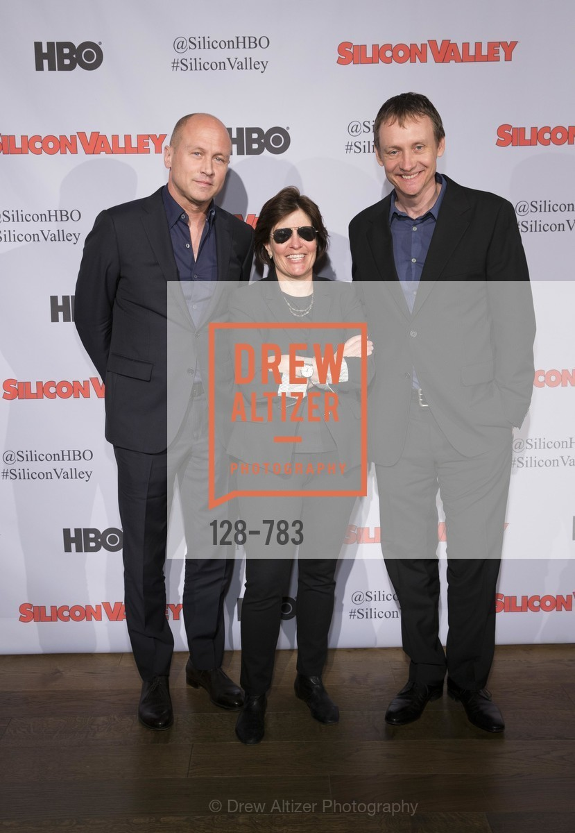 Mike Judge, Kara Swisher, Alec Berg, HBO'S SILICON VALLEY San Francisco Screening, US, April 8th, 2015,Drew Altizer, Drew Altizer Photography, full-service agency, private events, San Francisco photographer, photographer california