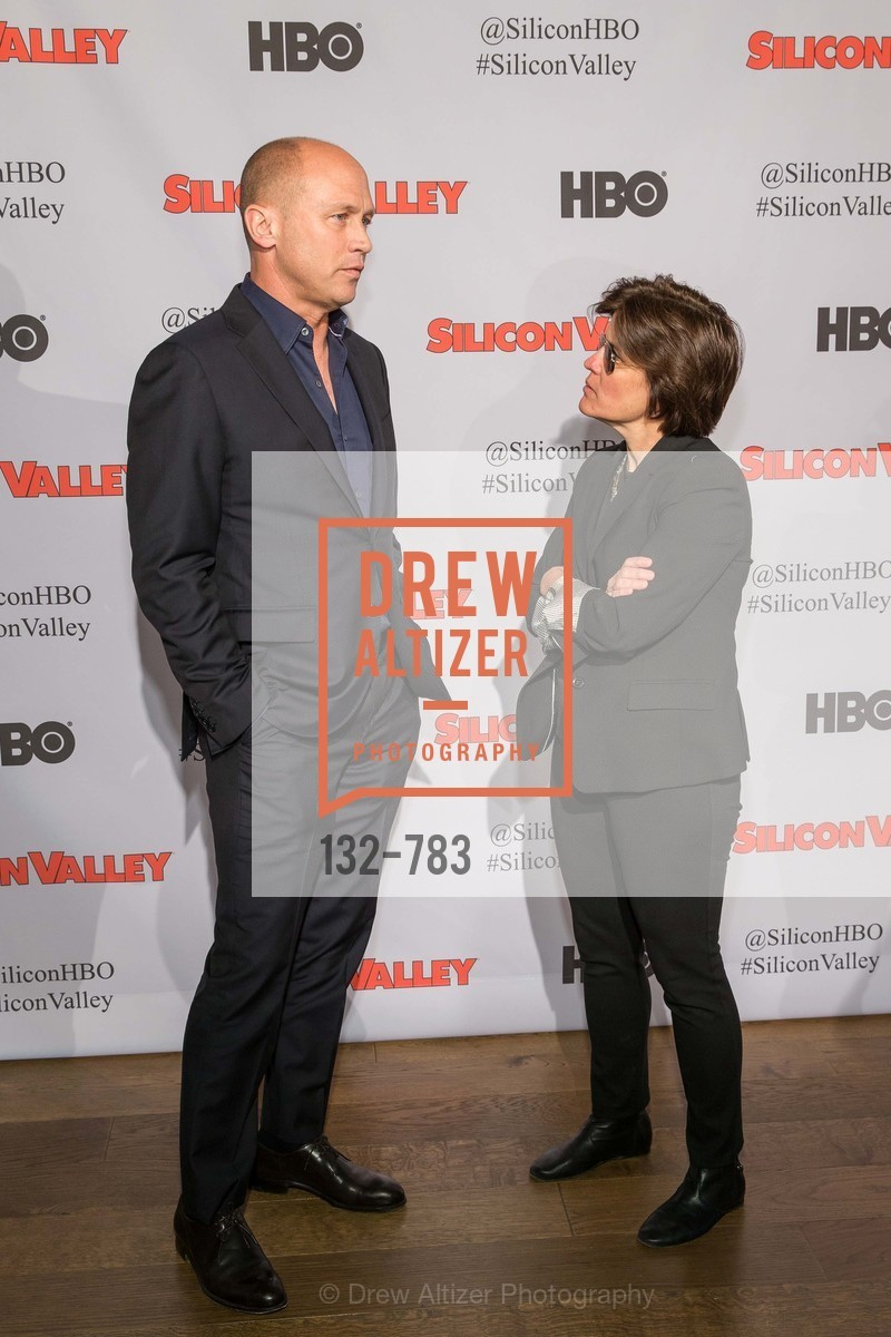 Mike Judge, Kara Swisher, HBO'S SILICON VALLEY San Francisco Screening, US, April 9th, 2015,Drew Altizer, Drew Altizer Photography, full-service agency, private events, San Francisco photographer, photographer california